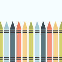 crayons border