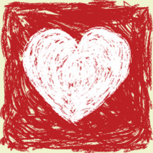 heart drawing coloring