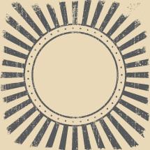 sunburst badge background.