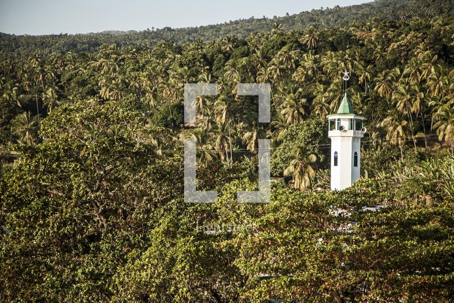 call to prayer tower