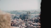 view of a European city