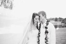 love between a bride and groom