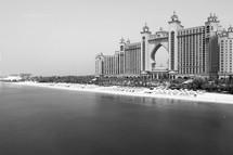 A grand resort hotel in Dubai
