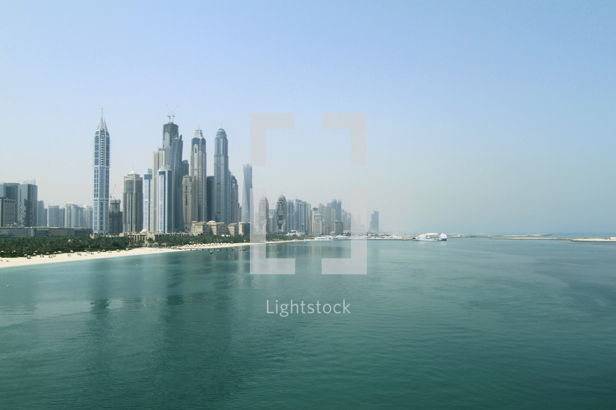 Dubai shoreline
