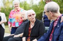senior men's and women's fellowship group