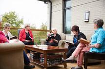 senior women's group Bible study