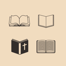 open Bible icons