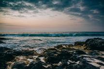 Kua Bay at sunset