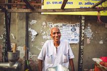 street vender in India
