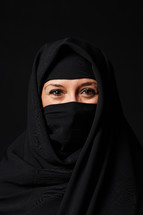 head shot of a Muslim woman
