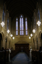 cathedral for a wedding