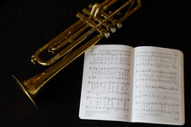 wind instruments and Easter Hymn
