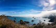 Trinidad Beach Panorama