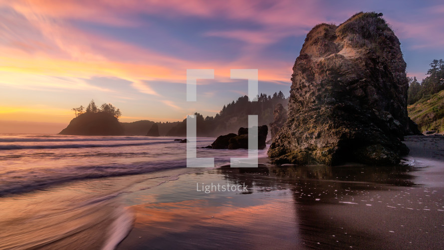 Trinidad Beach Sunset