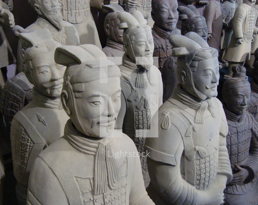 Chinese Terra Cotta Warriors