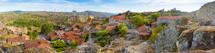 Panoramic view to Medieval Village of Sortelha