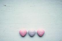 candy conversation heart tarts