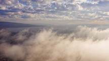 Above the clouds timelapse