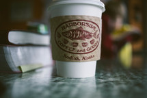 coffee cup - Harborside Coffee and Goods