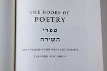 The Books of Poetry