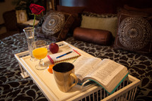 breakfast and Bed and morning devotional