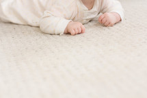 infant crawling