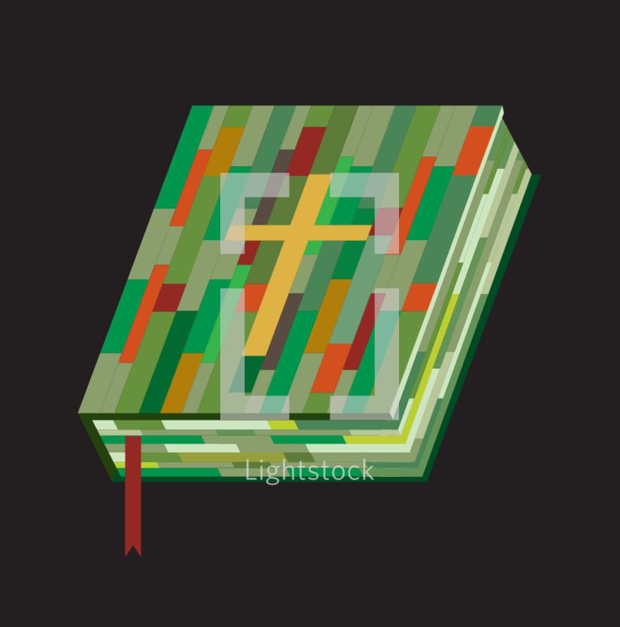 multicolored Bible icon
