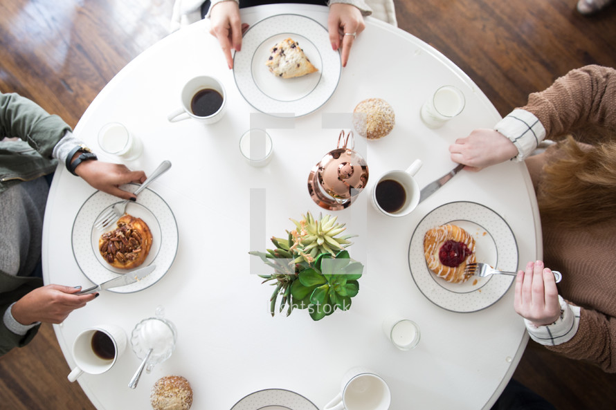 breakfast at a woman's group gathering