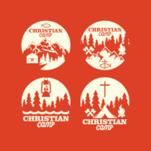 Christian Camp icons