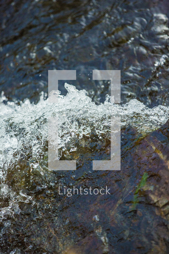water in a stream