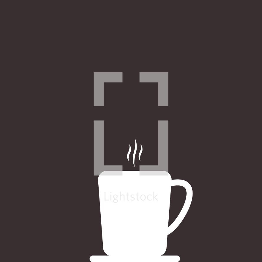 steam from a coffee mug