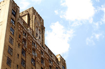 an old building in NYC