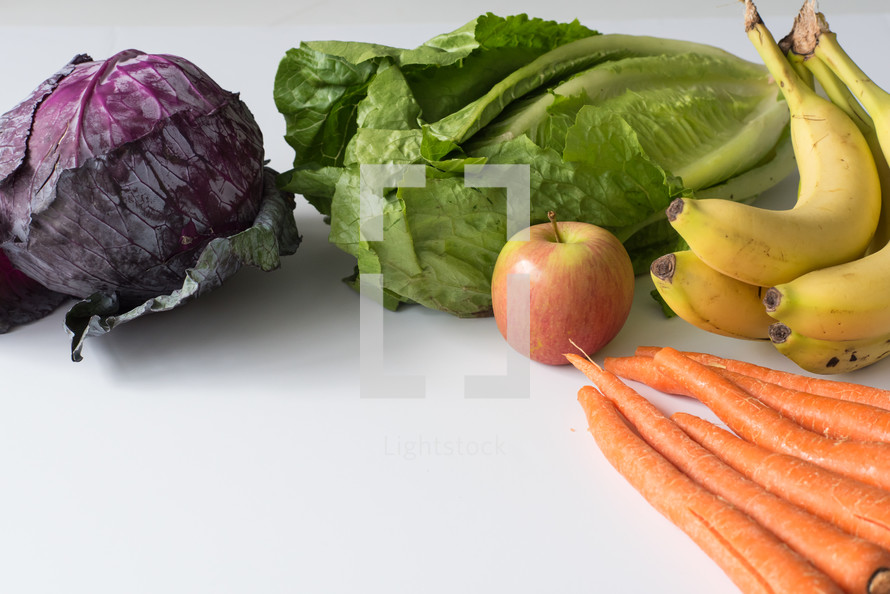 fruit and vegetables for juicing