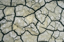 parched dry earth