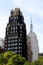 Historic buildings in New York City, American Radiator Building and Empire State building