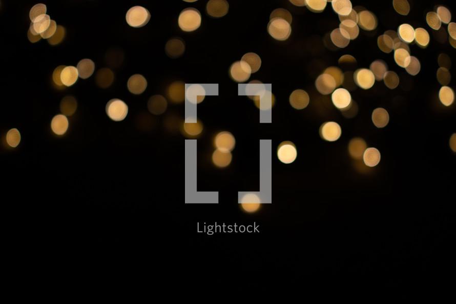 bokeh, lights, Christmas, gold, nativity, advent