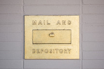 mail and depository drop box