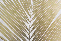 golden palm frond