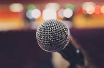 microphone closeup