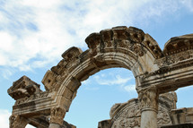 ruins in Ephesus Turkey