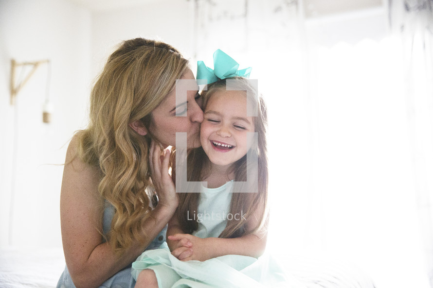 love between a mother and daughter.