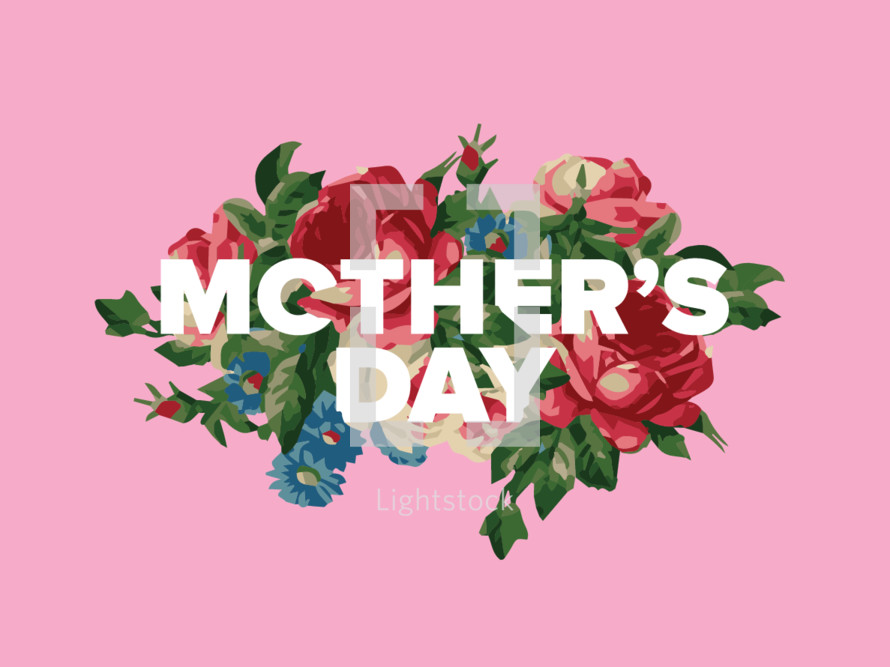 mother's day title graphic