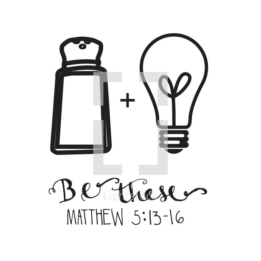 Be these, Matthew 5:13-16