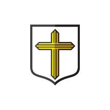 cross on a shield