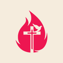 cross, flames, dove, Pentecost, symbol, icon, holy spirit, fire
