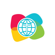 cross and globe logo