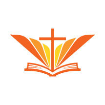 logo, wings, cross, yellow, Bible, icon