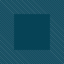 lines square blue background.