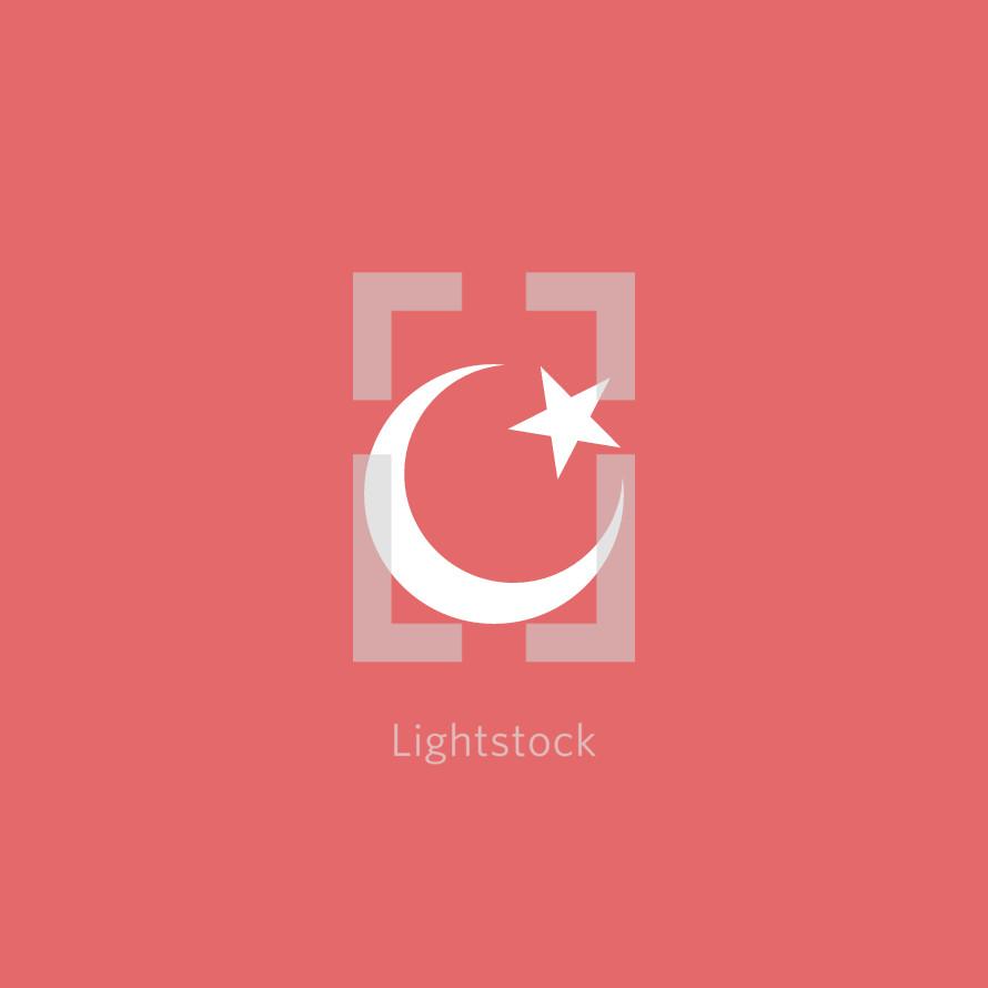 Islam Symbol Vector By Prixel Creative Lightstock