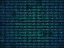 computer code background.
